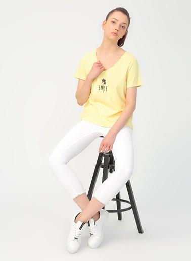 Only Tişört Sarı